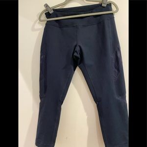 Zella cropped leggings Navy